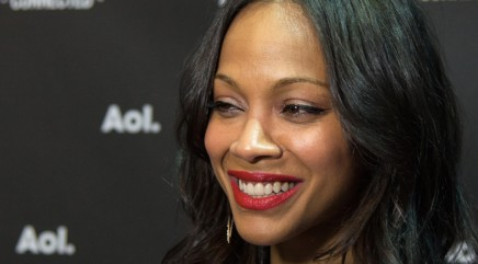 Zoe Saldana has some 'Avatar' news