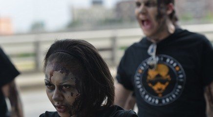 Oh no! Zombies 'take over' Dallas