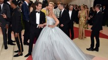 Claire Danes glows at the 2016 Met Gala