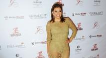 Eva Longoria dishes on her wedding dress