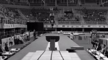 A gymnast's death-defying leap to success