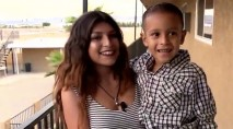 13-year-old's quick thinking saves toddler's life
