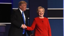 Watch the heated Clinton-Trump debate in 3 minutes