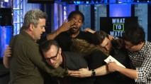 TV host breaks down over the series finale of big show