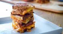 Learn to make these grilled cheese sandwiches with a tasty twist