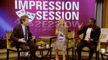 Kelly Ripa attempts to impersonate Robert De Niro