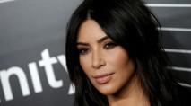 Kim Kardashian's lingerie-inspired dress turns heads in Sin City