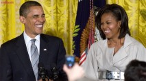 A look back at the most adorable moments between Barack and Michelle Obama