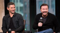 Ricky Gervais and Eric Bana dish on their comedic chemistry