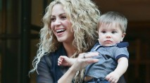 Shakira and Gerard Pique's son Sasha is his dad's mini-me