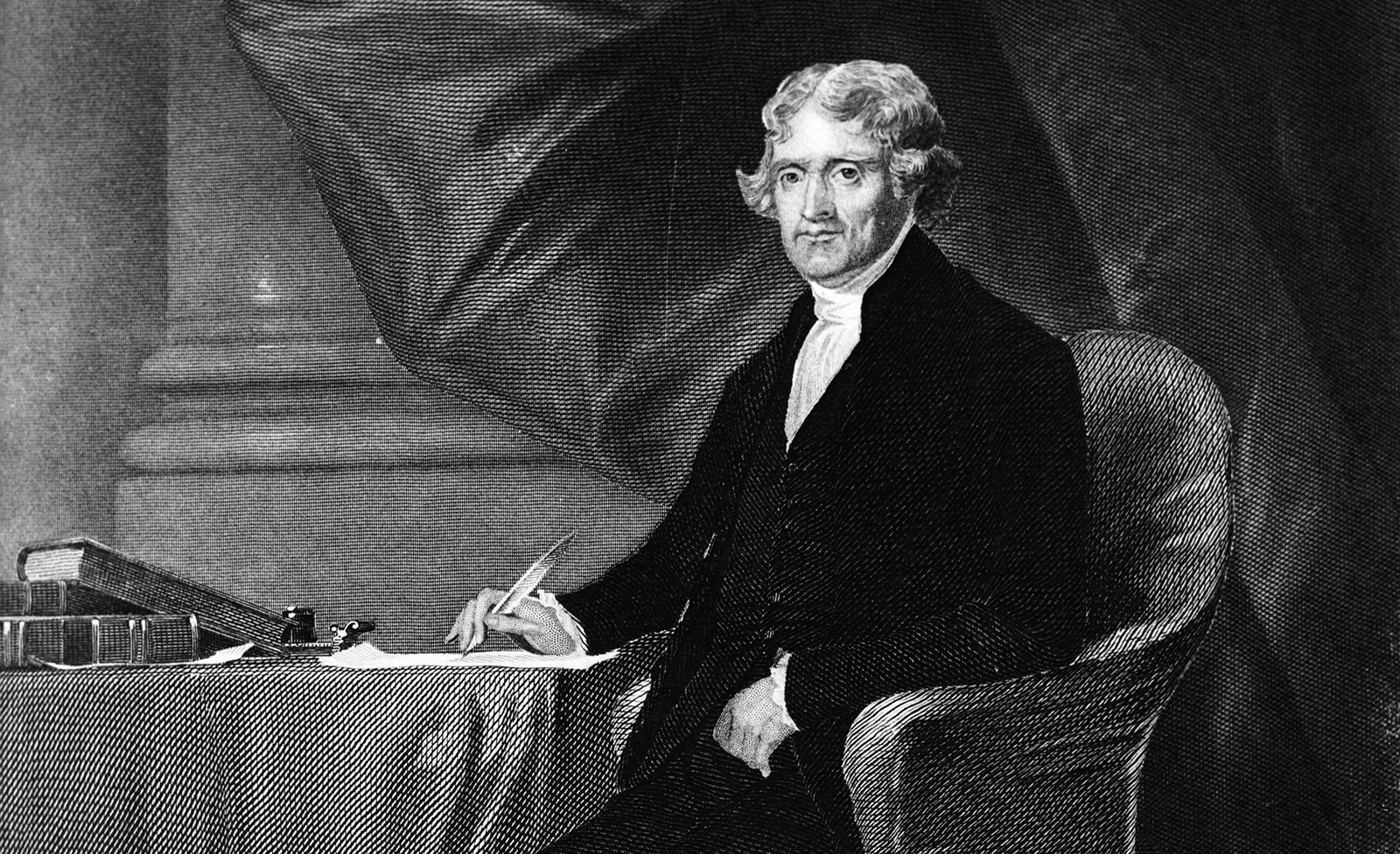 the life and administration of thomas jefferson the third president of the united states of america Jefferson served as secretary of state in the administration of george  president  by the us house of representatives after a tie vote in the.