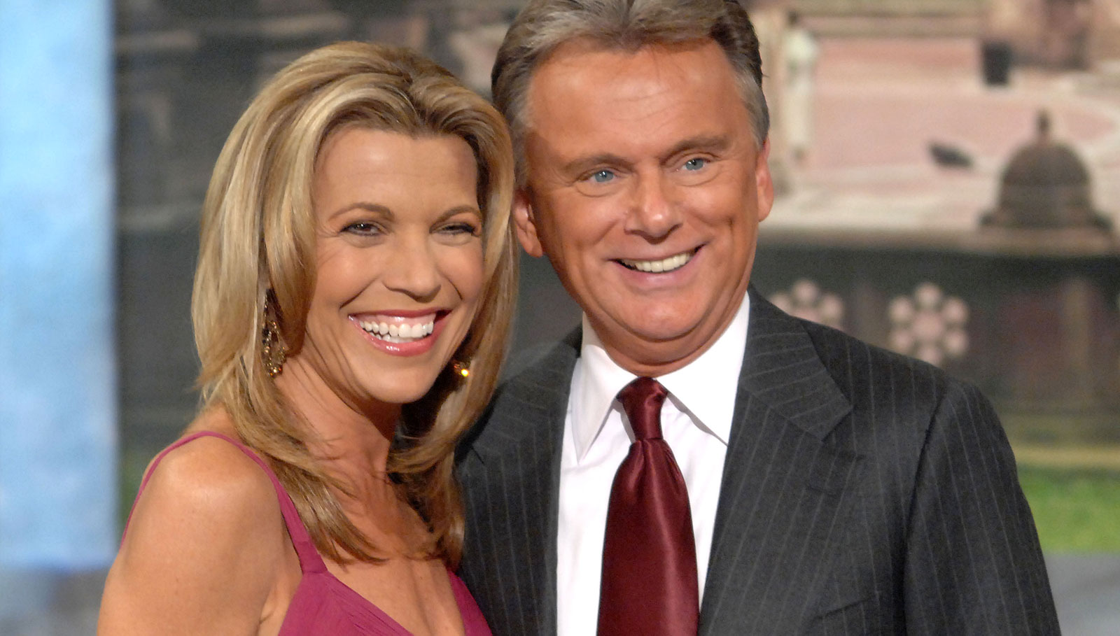 Pat sajak and vanna white give terminally ill wheel fan ultimate